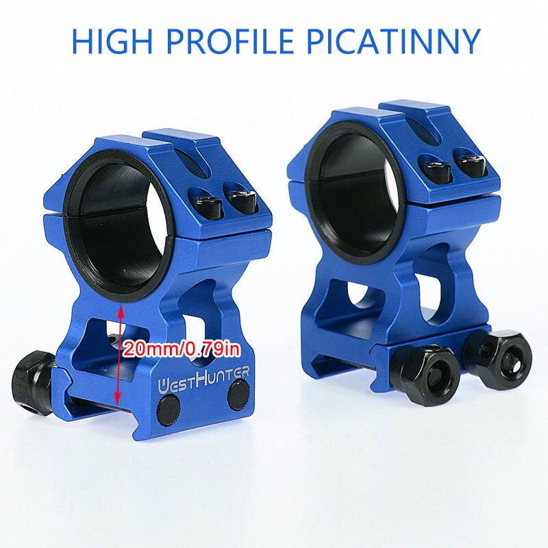 Blue-High Picatinny